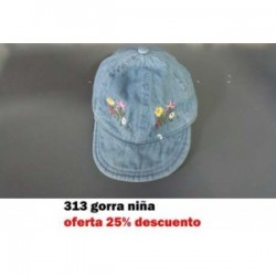 573 SOMBRERO BOTON FLORES