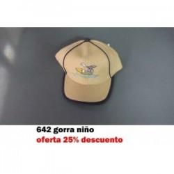 232 GORRA NIÑO GATO CON BALON
