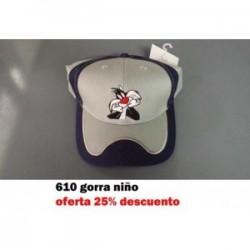 295 GORRA NIÑO OSO
