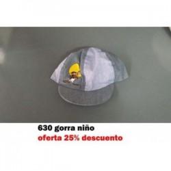 300 GORRA NIÑA VAQUERO FLORES