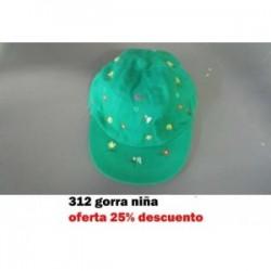 385 GORRA NIÑA PRINCESA